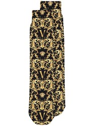 Versace Baroque Pattern Socks 60