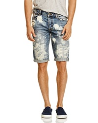 Prps Goods And Co. Keith Destructed Shorts Light Wash