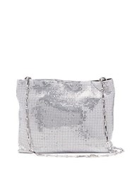 Paco Rabanne Pixel 1969 Chain Shoulder Bag Silver