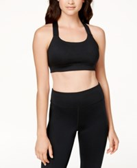 Jessica Simpson Warm Up Active T Back Bra Black