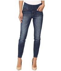 Jag Jeans Amelia Pull On Slim Ankle Comfort Denim In Durango Wash Durango Wash Women's Blue