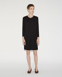 Raquel Allegra Shift Dress Black