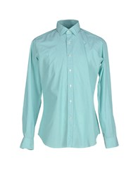 Mastai Ferretti Shirts Shirts Men Light Green