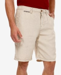 Lucky Brand Flat Front 10 Shorts Beige