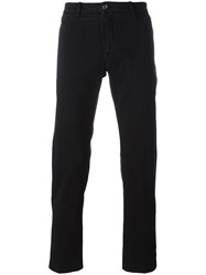 Jacob Cohen Straight Leg Chinos Black