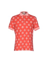 Capobianco Polo Shirts Red
