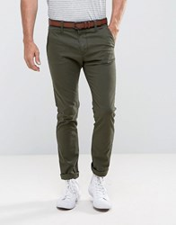 Tom Tailor Skinny Chino With Belt 7807 Black