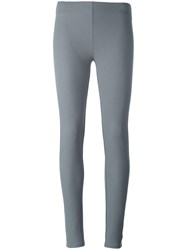 Joseph Cropped Leggings Grey