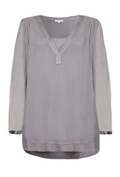 Ghost Magda Top White Grey