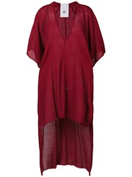 Lost And Found Rooms Long Tail Dress Red