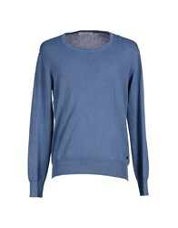Gaudi' Knitwear Jumpers Men Slate Blue