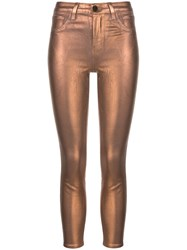 L'agence Margot Metallized Skinny Jeans 60