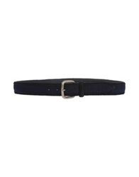 Fabrizio Mancini Belts Dark Blue