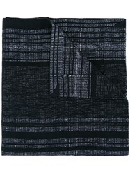 A New Cross Artisanal Shawl With Magnet Fastening Black