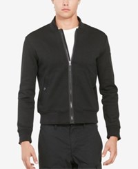 Polo Ralph Lauren Men's Double Knit Bomber Jacket Black