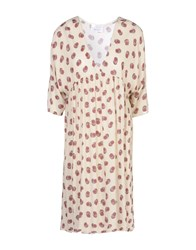 George J. Love Dresses Knee Length Dresses Women Beige