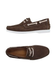 Eleventy Footwear Lace Up Shoes Men Brown