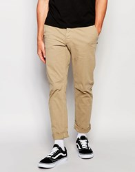 Only And Sons Chinos In Skinny Fit Khaki Grey