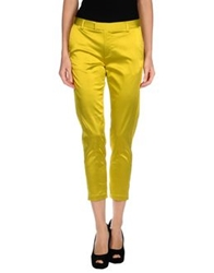 Adele Fado Casual Pants Acid Green