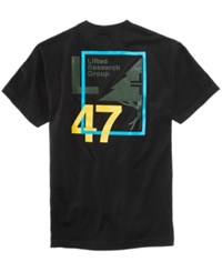 Lrg Men's Framed 47 Logo T Shirt Black