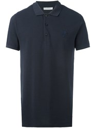 Versace Collection Classic Polo Shirt Blue