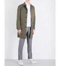 Slowear 3 In 1 Cotton Blend Trench Mac Khaki