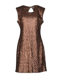 Deby Debo Short Dresses Brown