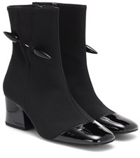 Dorateymur Jersey Ankle Boots Black