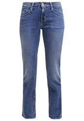 Mustang Oregon Straight Leg Jeans Brushed Bleached Bleached Denim