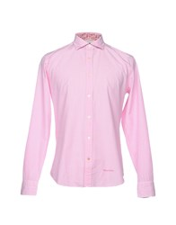 Henry Cotton's Shirts Pink