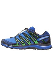 Salomon Xa Lite Gtx Trail Running Shoes Nautical Blue Blue Depths Classic Green