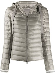 Herno Hooded Quilted Down Jacket 60
