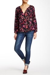 Joie Mid Rise Skinny Blue