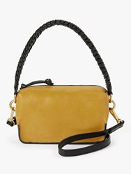 And Or Puebla Leather Cross Body Bag Ochre