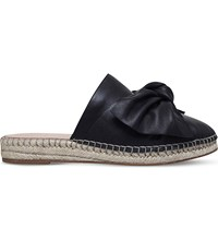 Kg By Kurt Geiger Niamh Leather Espadrilles Black