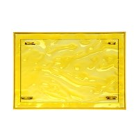 Kartell Dune Tray 55X38cm Yellow