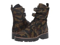 Shellys Tyra Camo Women's Lace Up Boots Multi