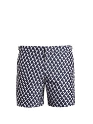 Orlebar Brown Bulldog Gilot Swim Shorts Navy White