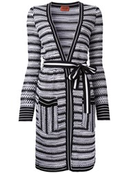 Missoni Open Midi Cardigan Black