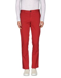Lab. Pal Zileri Trousers Casual Trousers Men Red