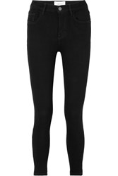 Current Elliott Stiletto High Rise Skinny Jeans Black