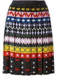 Mary Katrantzou 'Mandy' Sparkle Jacquard Skirt Multicolour