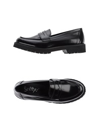 Scoop Moccasins Black