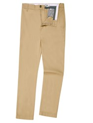 Lacoste Men's Cotton Gabardine Chino Pants Tan