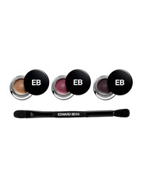 Edward Bess Expressionist Whipped Liner And Shadow Wardrobe With Dual Ended Brush