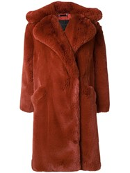 Givenchy Oversized Coat Brown