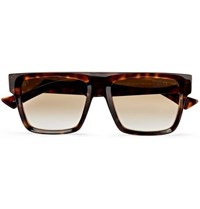 Cutler And Gross Square Frame Tortoiseshell Acetate Sunglasses Brown