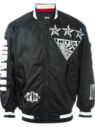 Ktz 'Surreal Big Bomber' Jacket Black