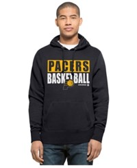47 Brand '47 Men's Indiana Pacers Knockaround Headline Pullover Hoodie Navy