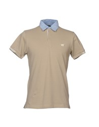 Henry Cotton's Polo Shirts Beige